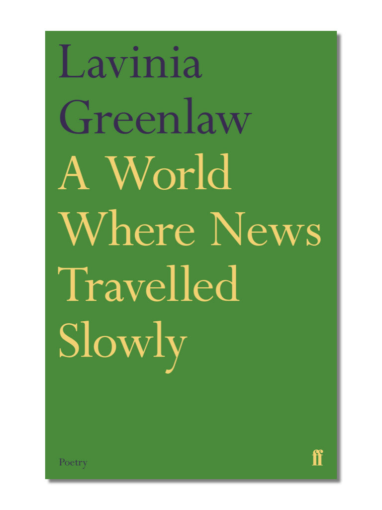 A World Where News Travelled Slowly