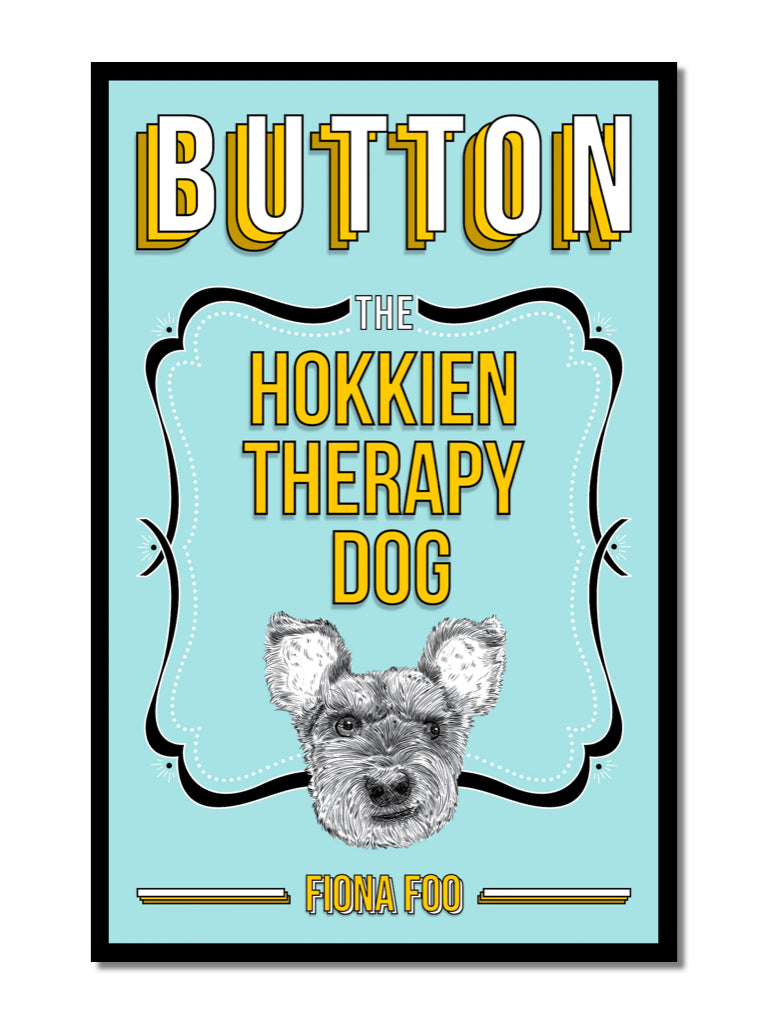 Button: The Hokkien Therapy Dog