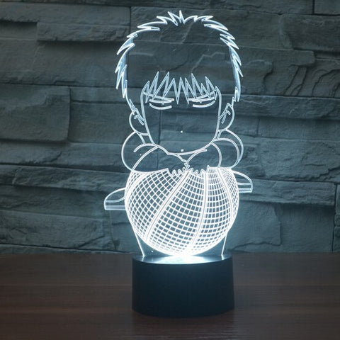 Anime Dunk 3D Lamp - Illusions 3D