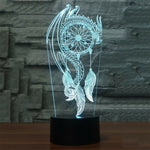 Dream Catcher 3D Lamp - Illusions 3D