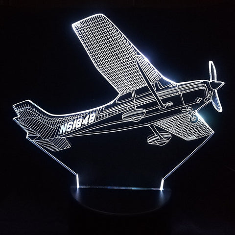N61848 Single Engine 3D Lamp - Illusions 3D