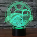 Beetle 3D Lamp - Illusions 3D