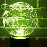 World Traveler 3D Lamp - Illusions 3D