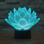 Lotus Bomb 3D Lamp - Illusions 3D