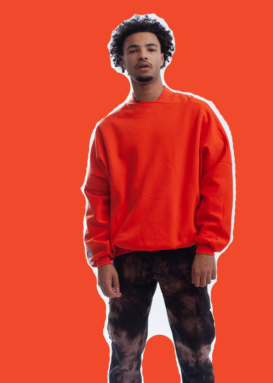 AGOGO • Sweat Bico Orange