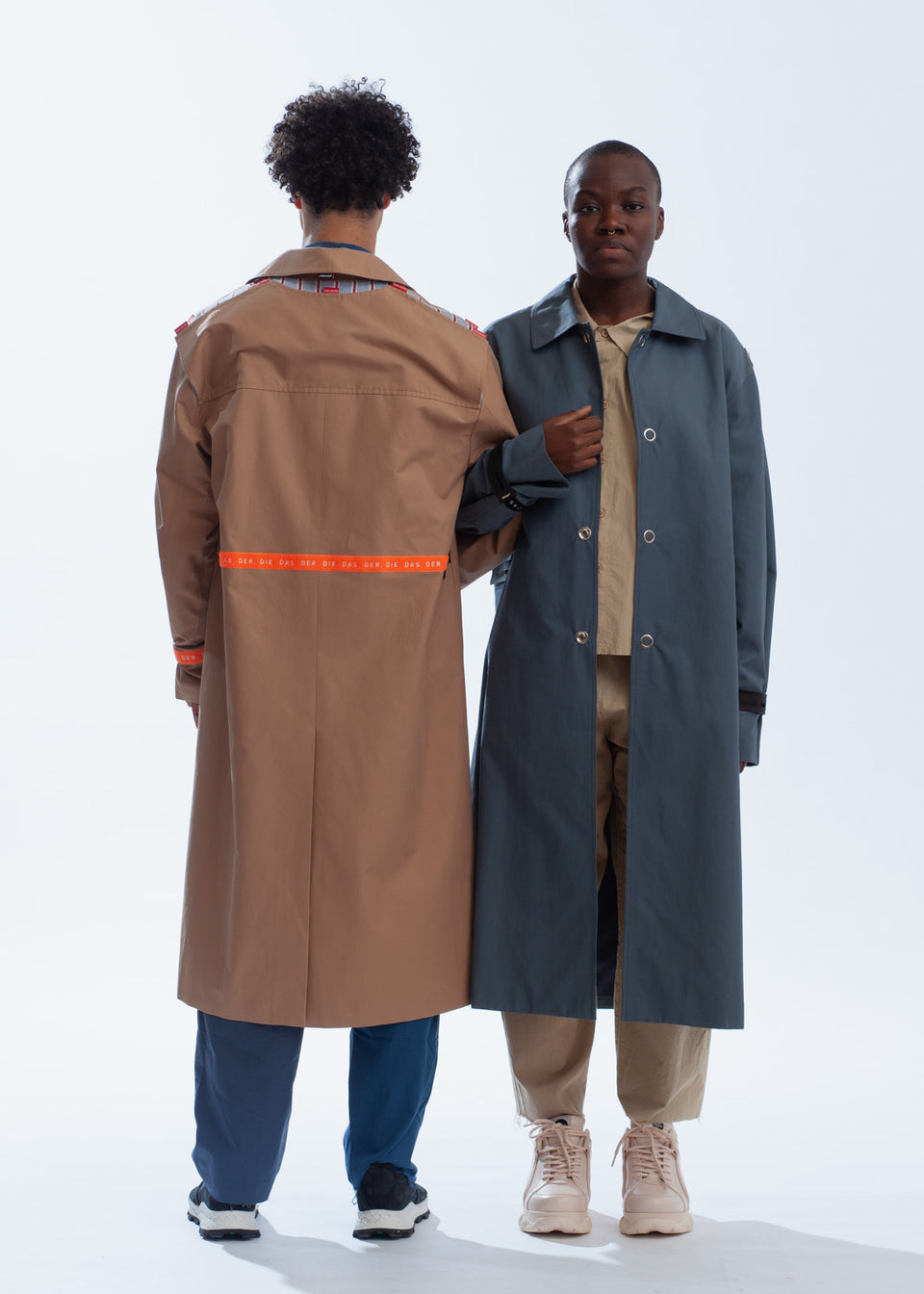 YOUSER • Trench modulable Camel