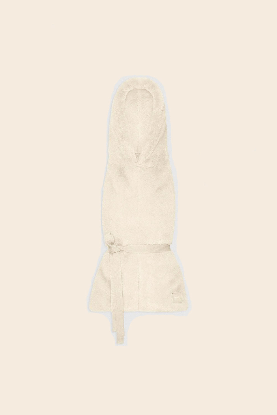OOF • Capuche-Gilet 3010 Fausse Fourrure Blanche