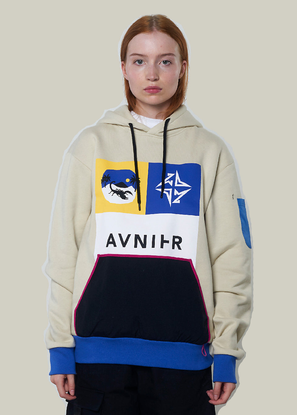 AVNIER • Sweat Hoodie Merch Beige