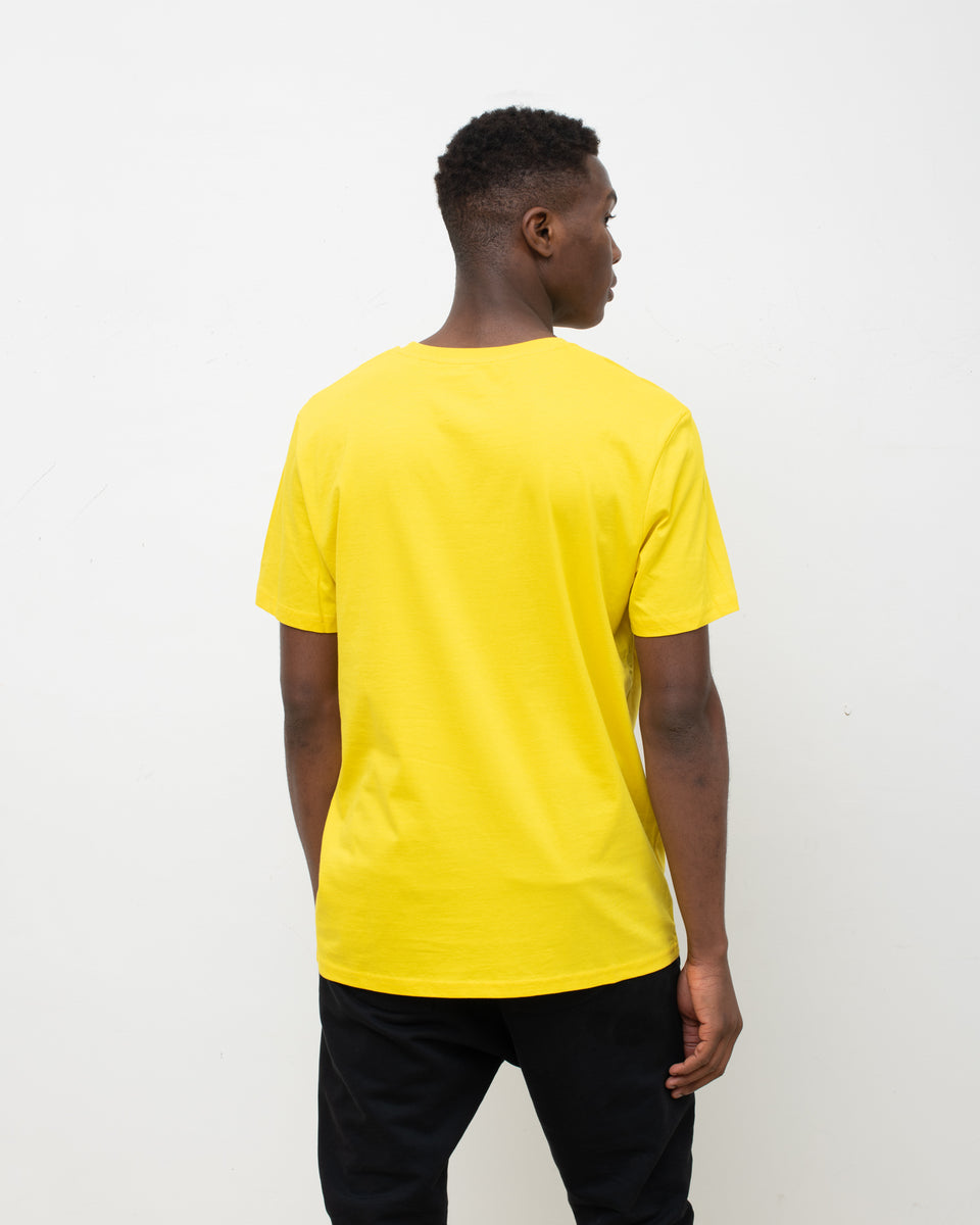 AGOGO • BASIC TEE Big A Jaune