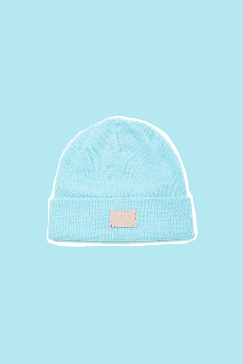OBEY • Bonnet Briean Bleu Ciel