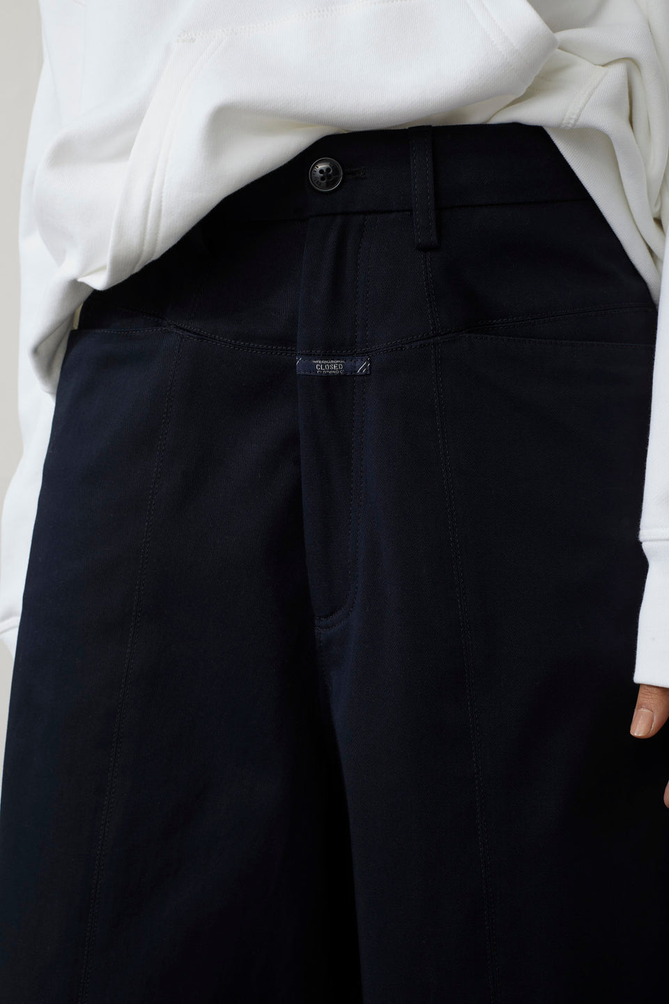 CLOSED • Pantalon-culotte Société Anonyme Jean Dark Blue