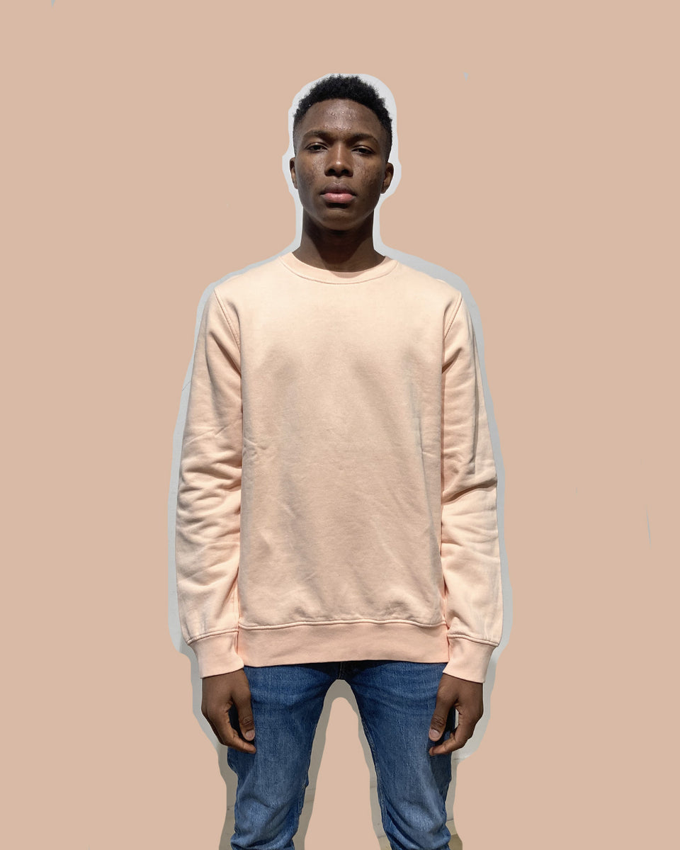 COLORFUL STANDARD • Sweat Crewneck Pêche