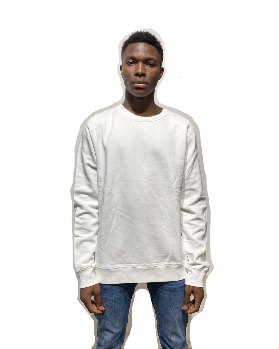 COLORFUL STANDARD • Sweat Crewneck Blanc