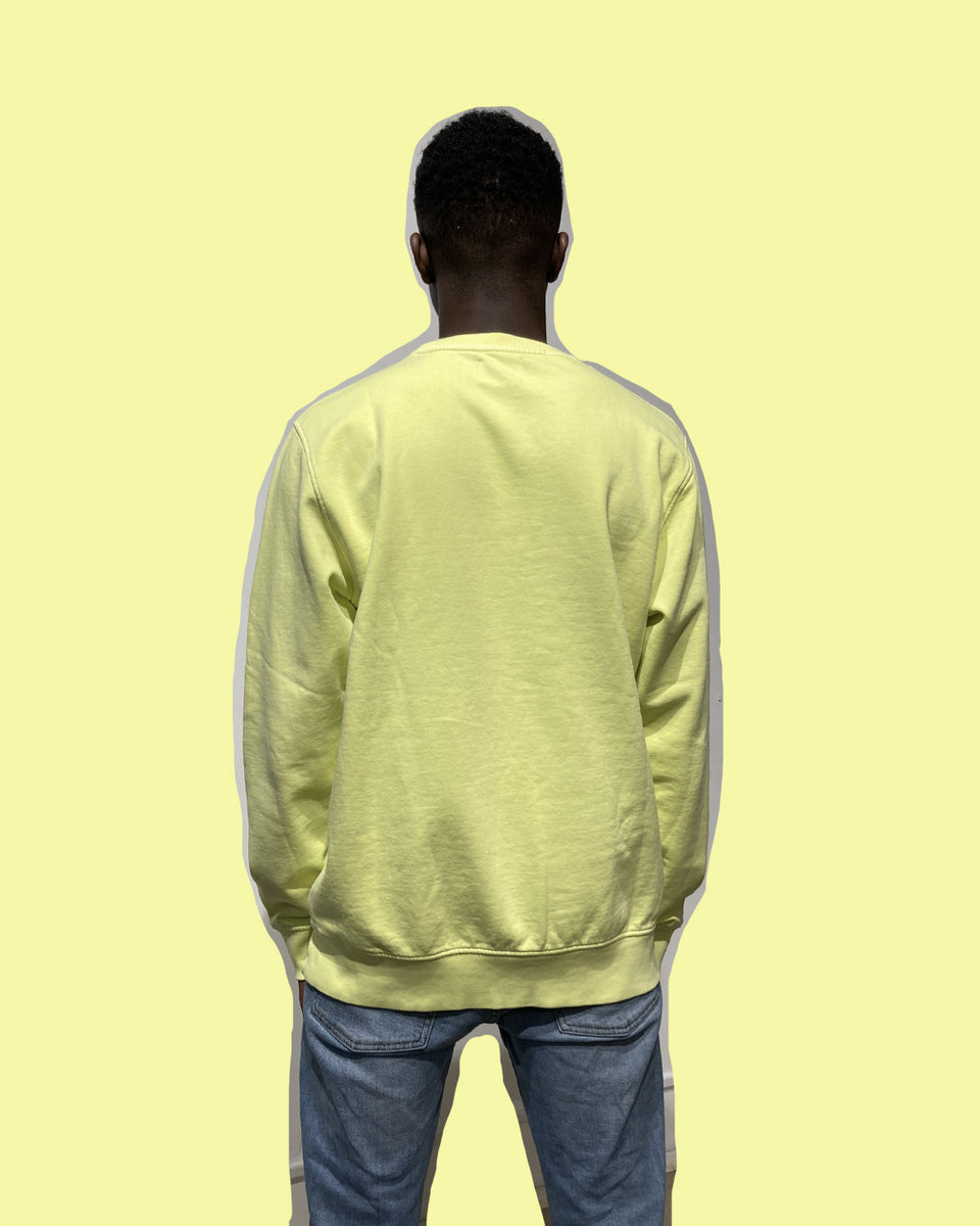 COLORFUL STANDARD • Sweat Crewneck Jaune Néon