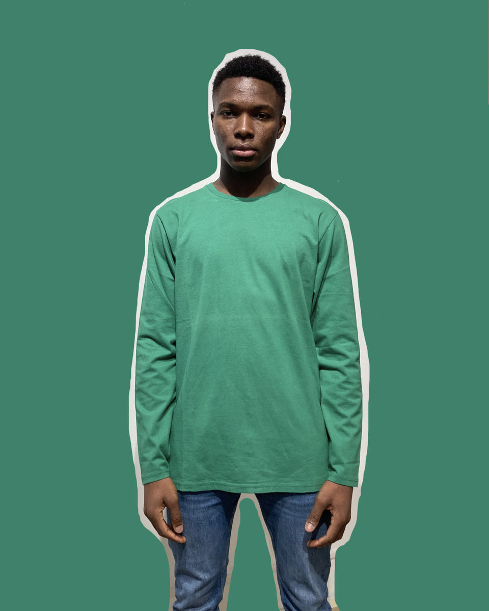 COLORFUL STANDARD • T-shirt Manches Longues Kelly Green
