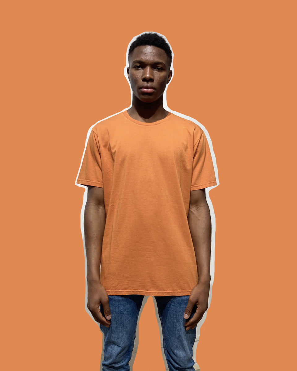 COLORFUL STANDARD • T-shirt Manches Courtes Orange