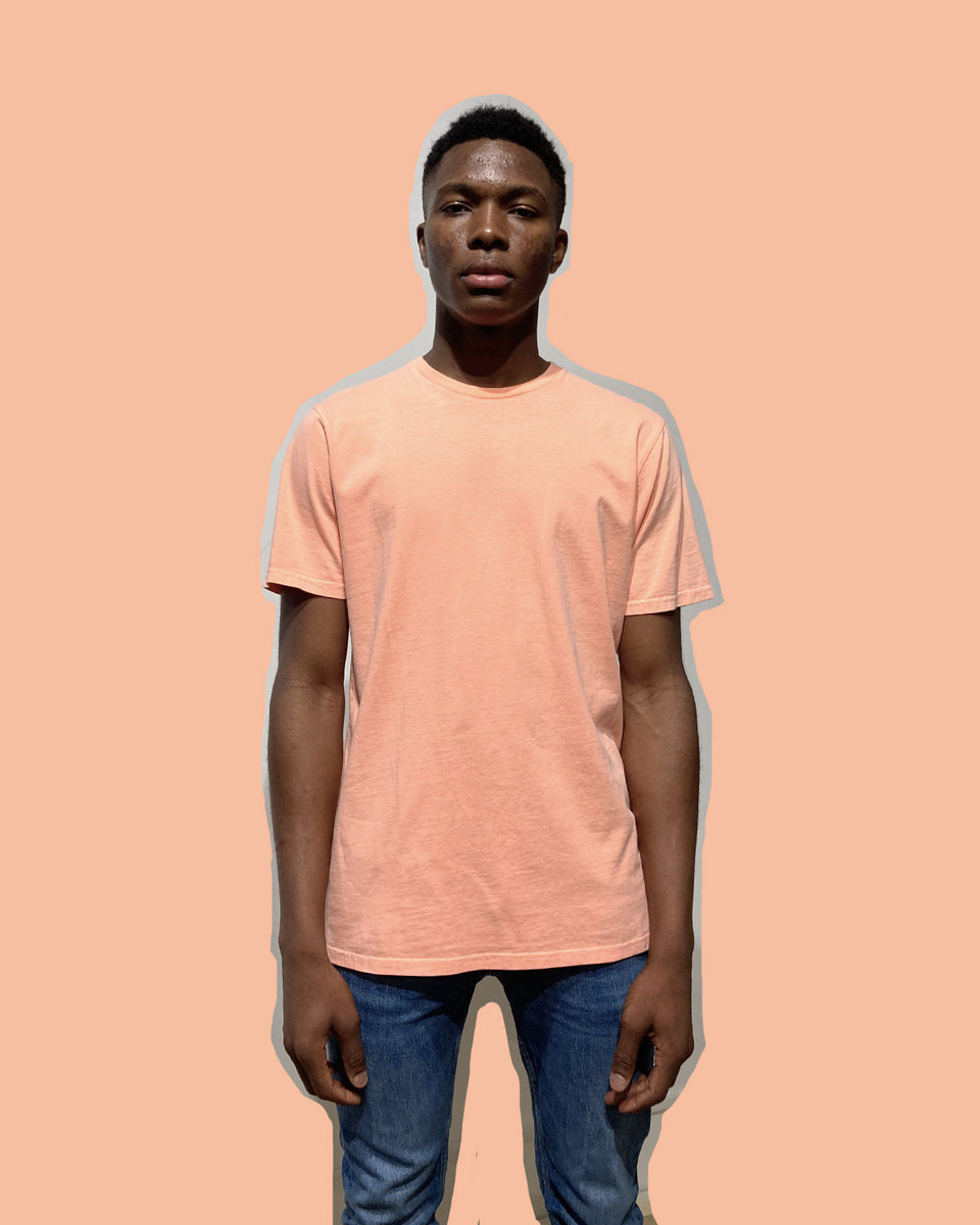 COLORFUL STANDARD • T-shirt Manches Courtes Orange Néon