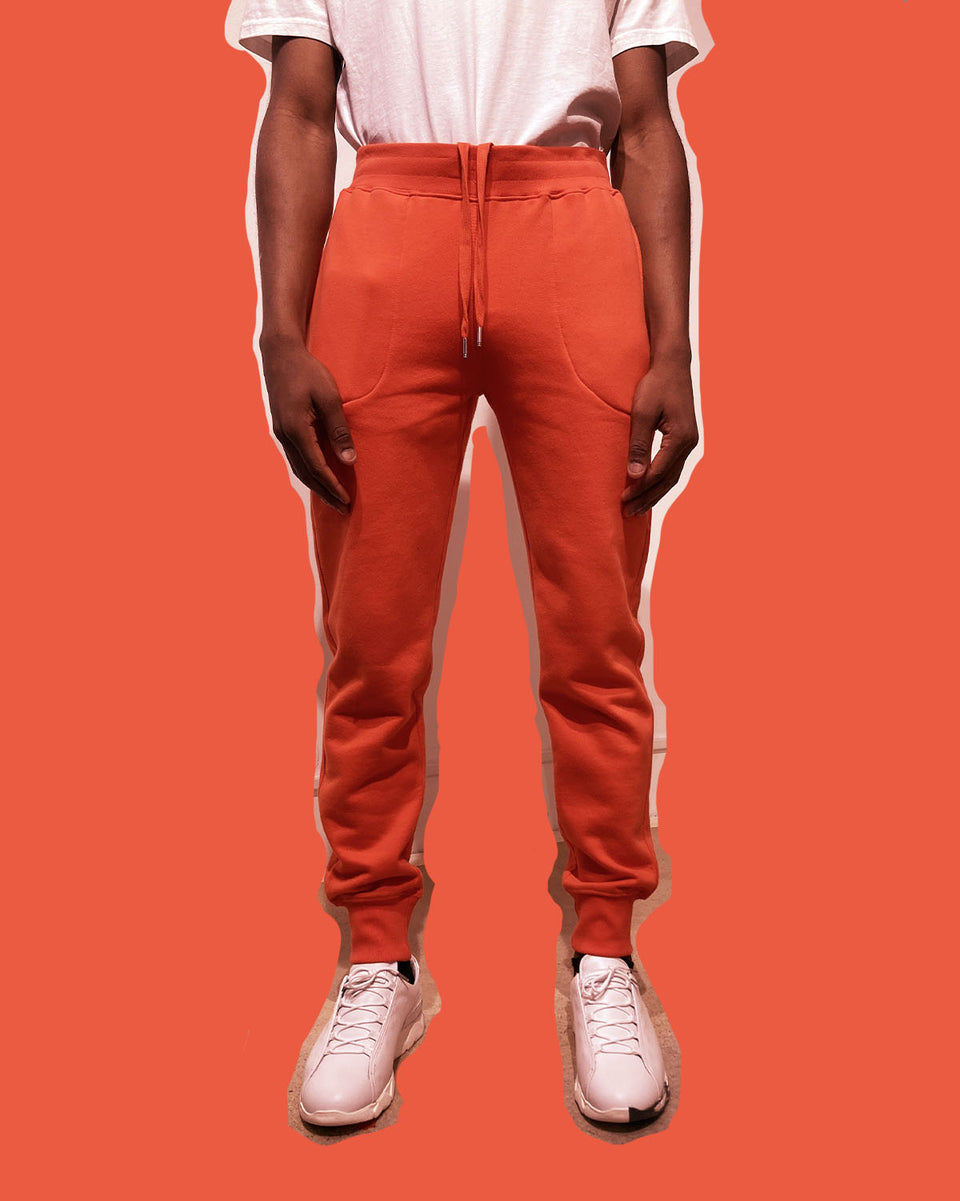 COMPAGNIE DE CALIFORNIE • Pantalon de Jogging Diego Orange