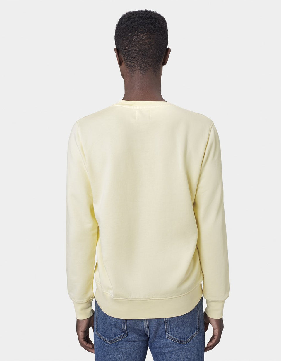 COLORFUL STANDARD • Sweat Crewneck Jaune clair