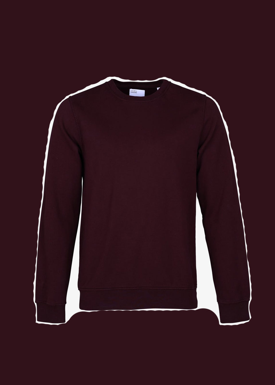 COLORFUL STANDARD • Sweat Crewneck Bordeaux