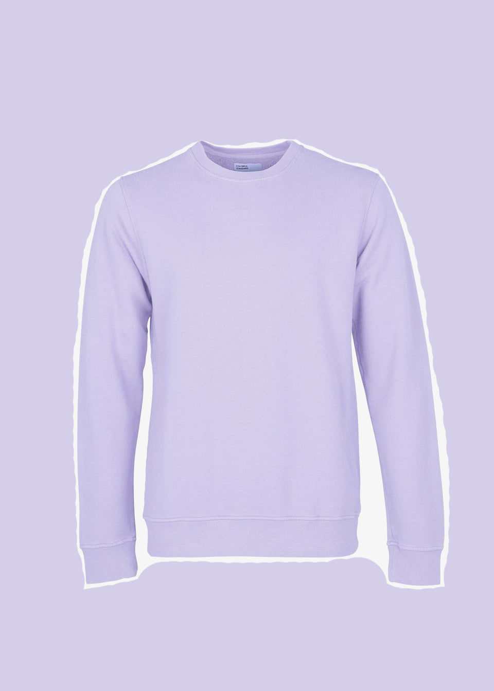 COLORFUL STANDARD • Sweat Crewneck Lavande