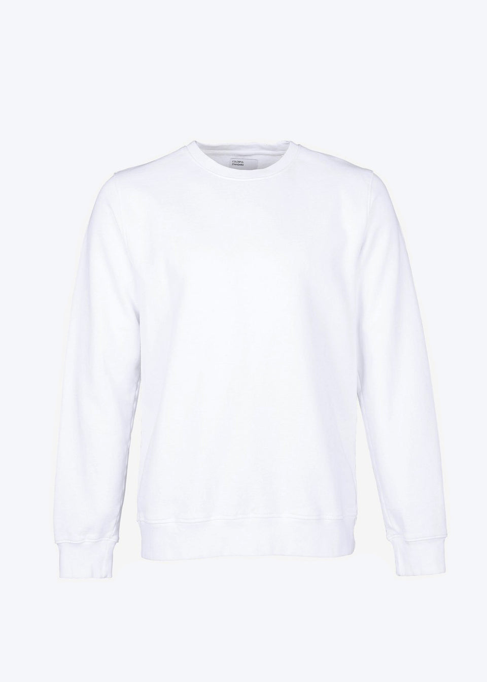 COLORFUL STANDARD • Sweat Crewneck Blanc optique