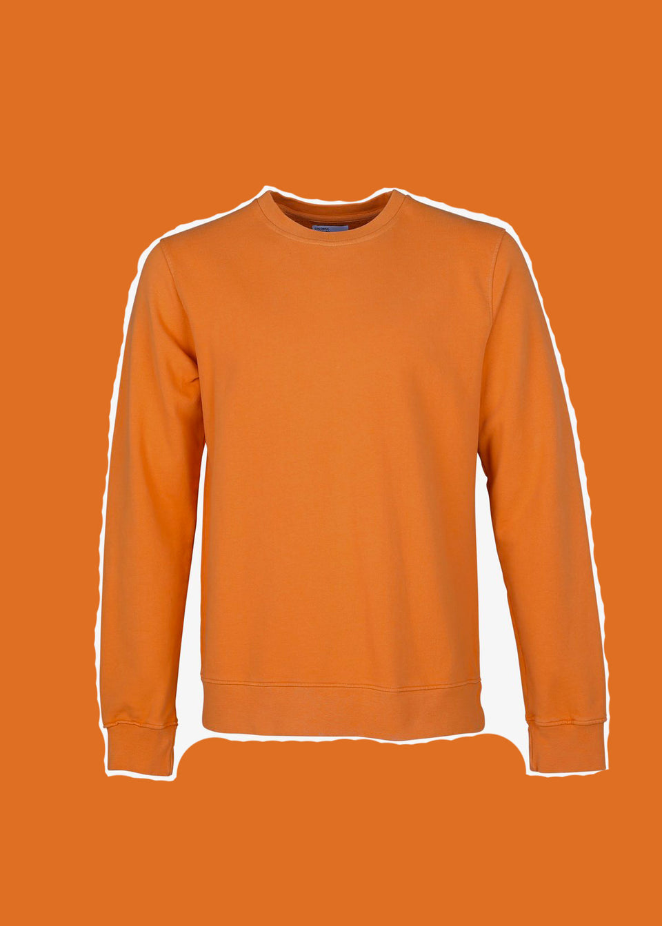 COLORFUL STANDARD • Sweat Crewneck Orange