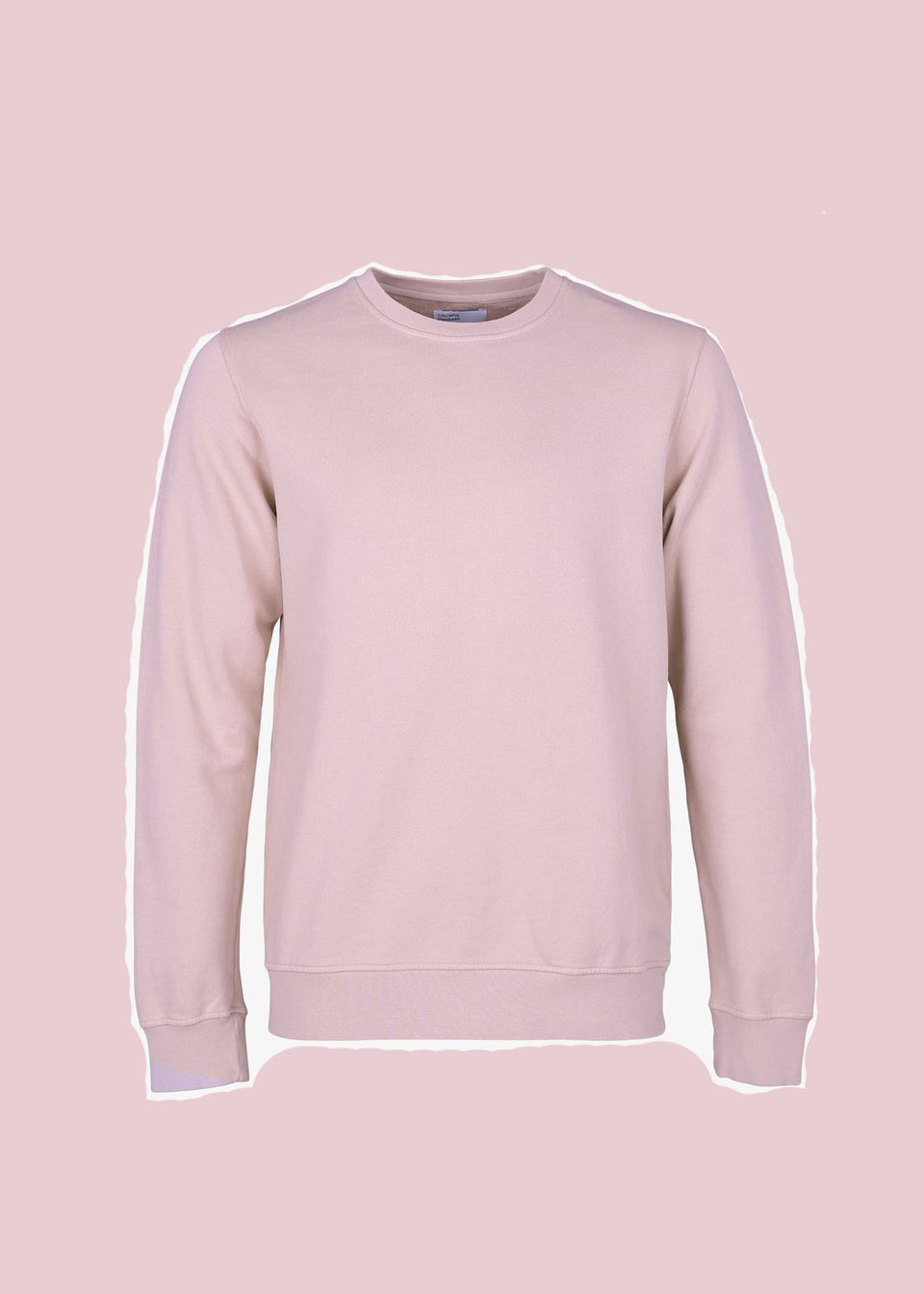 COLORFUL STANDARD • Sweat Crewneck Rose
