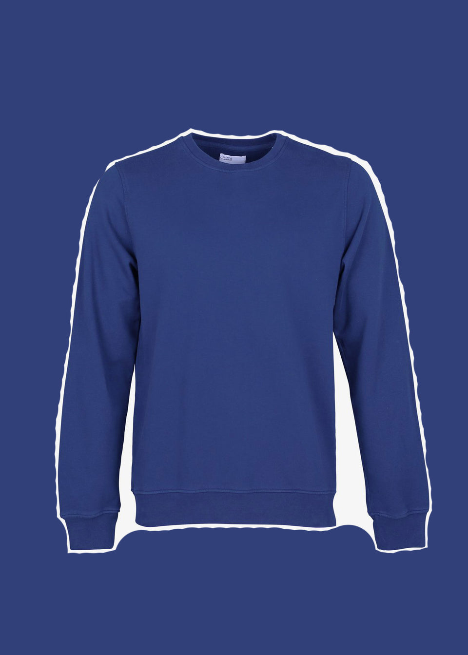 COLORFUL STANDARD • Sweat Crewneck Bleu Royal