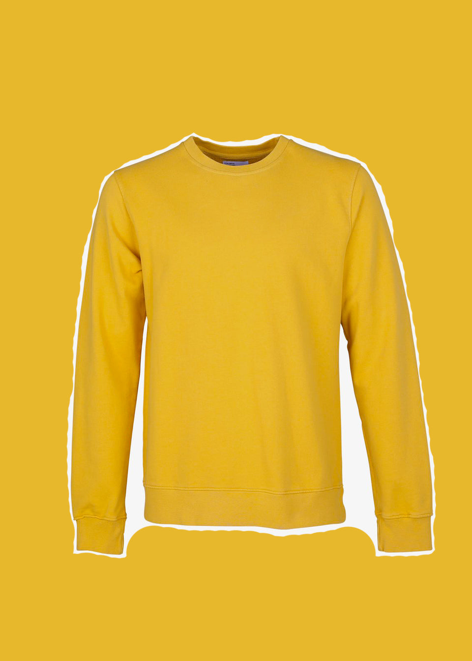 COLORFUL STANDARD • Sweat Crewneck Jaune