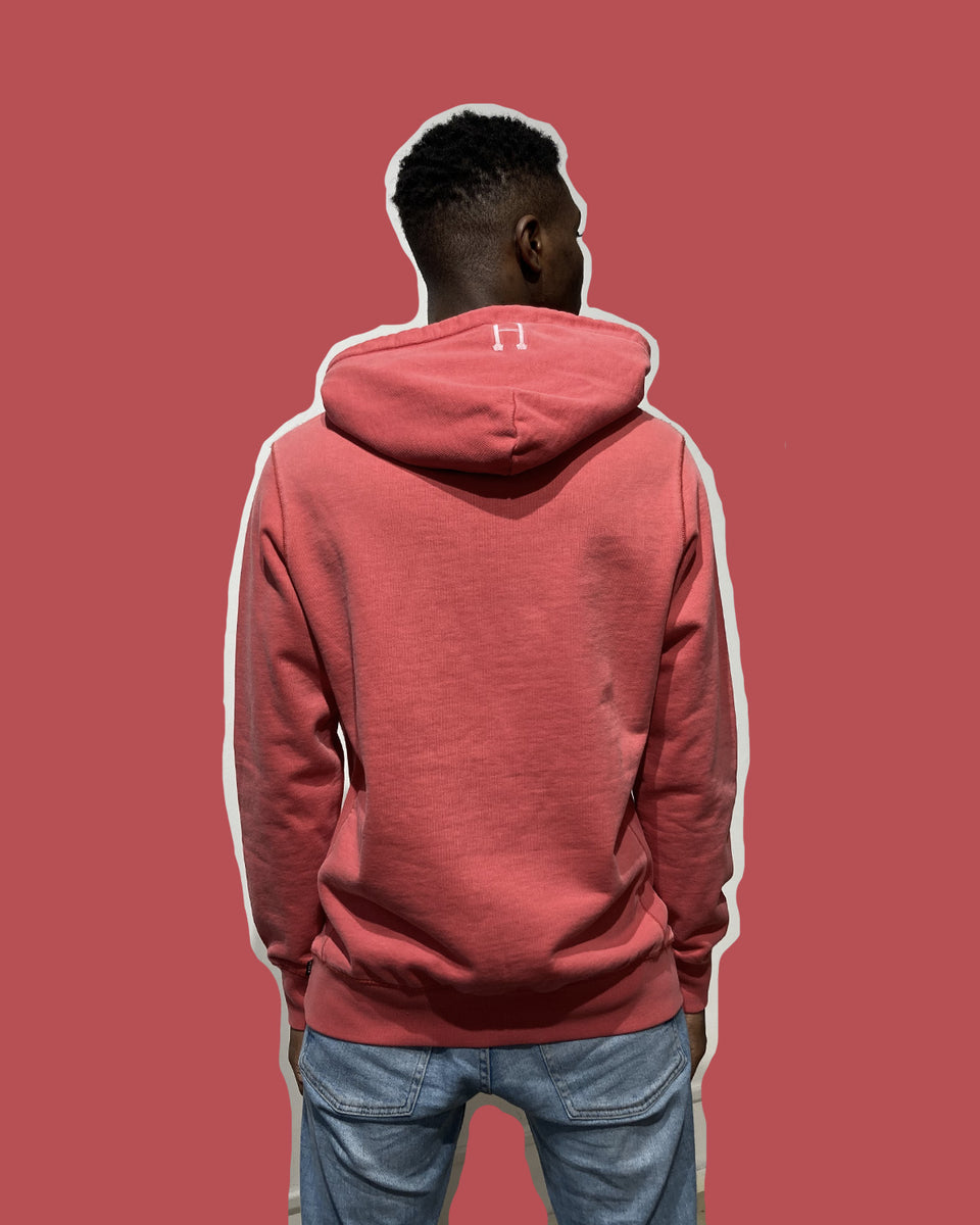 HUF • Sweat Hibiscus à capuche Rouge