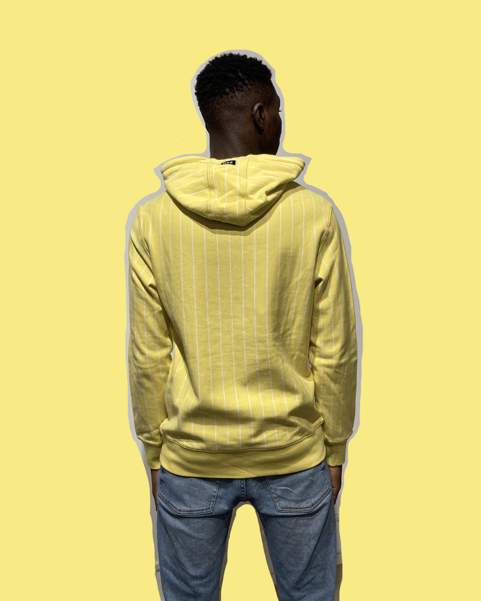 HUF • Sweat League Jaune