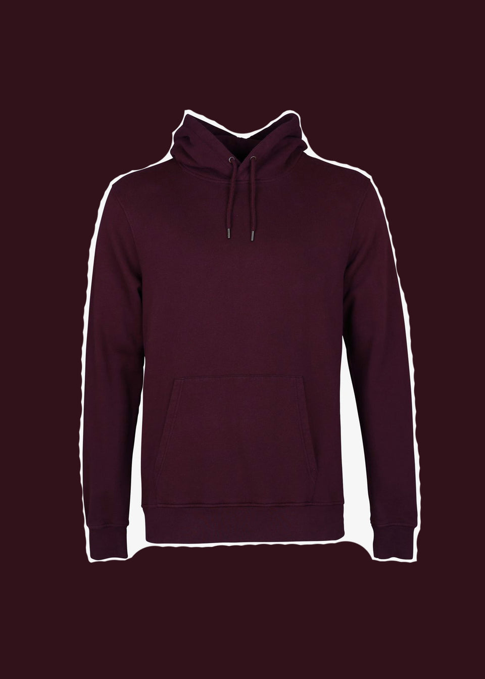 COLORFUL STANDARD • Sweat Hoodie Bordeaux