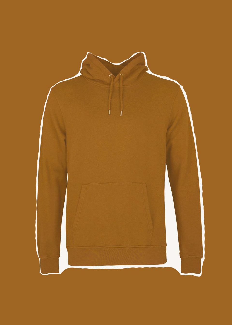 COLORFUL STANDARD • Sweat Hoodie Camel