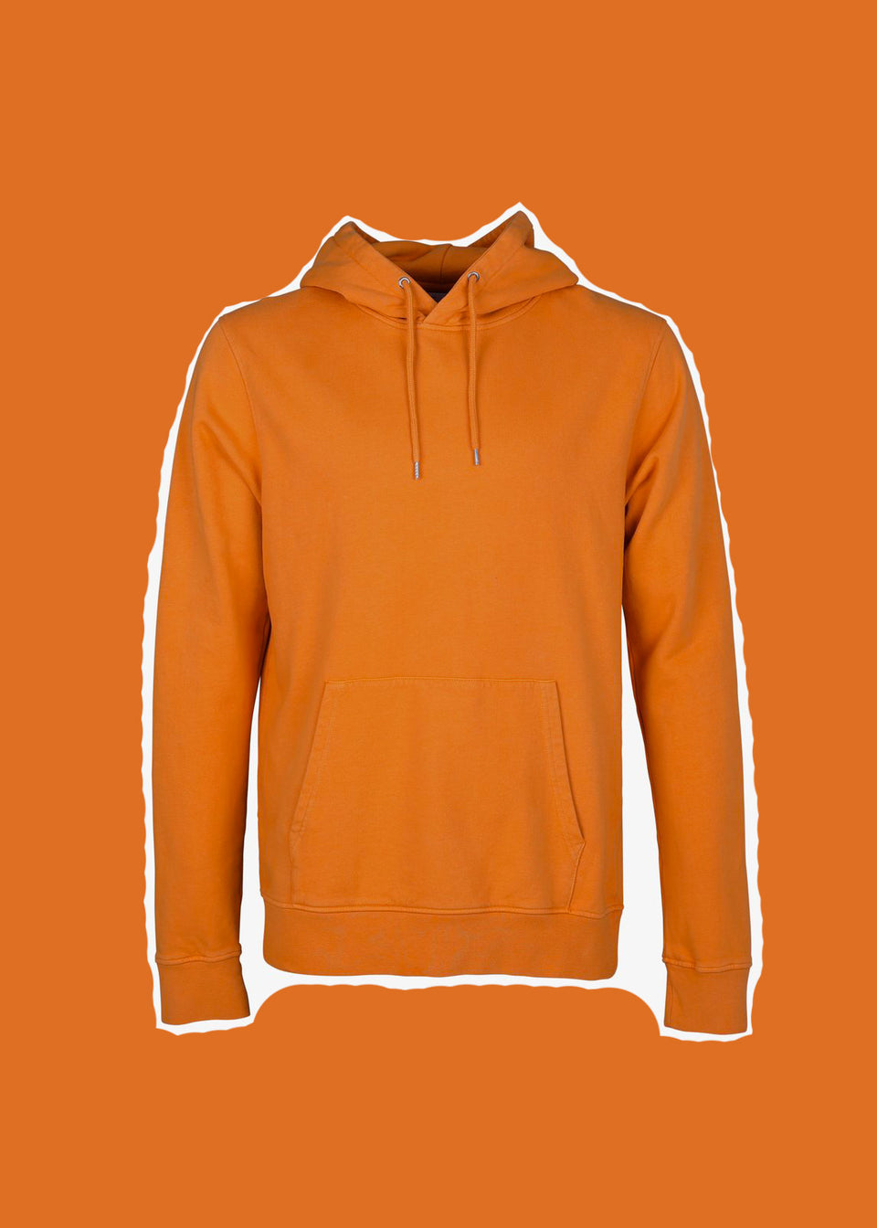 COLORFUL STANDARD • Sweat Hoodie Orange