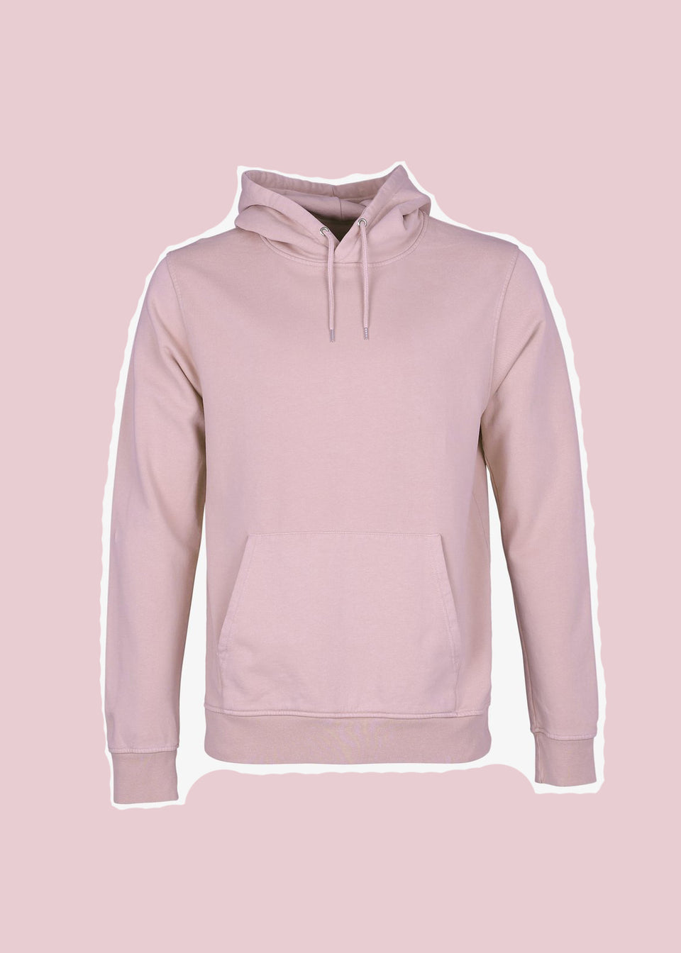 COLORFUL STANDARD • Sweat Hoodie Rose