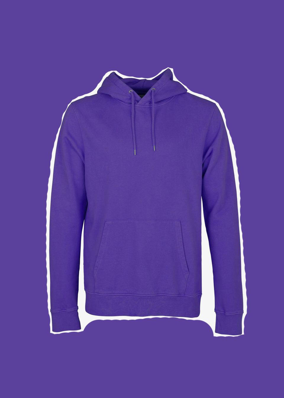 COLORFUL STANDARD • Sweat Hoodie Violet