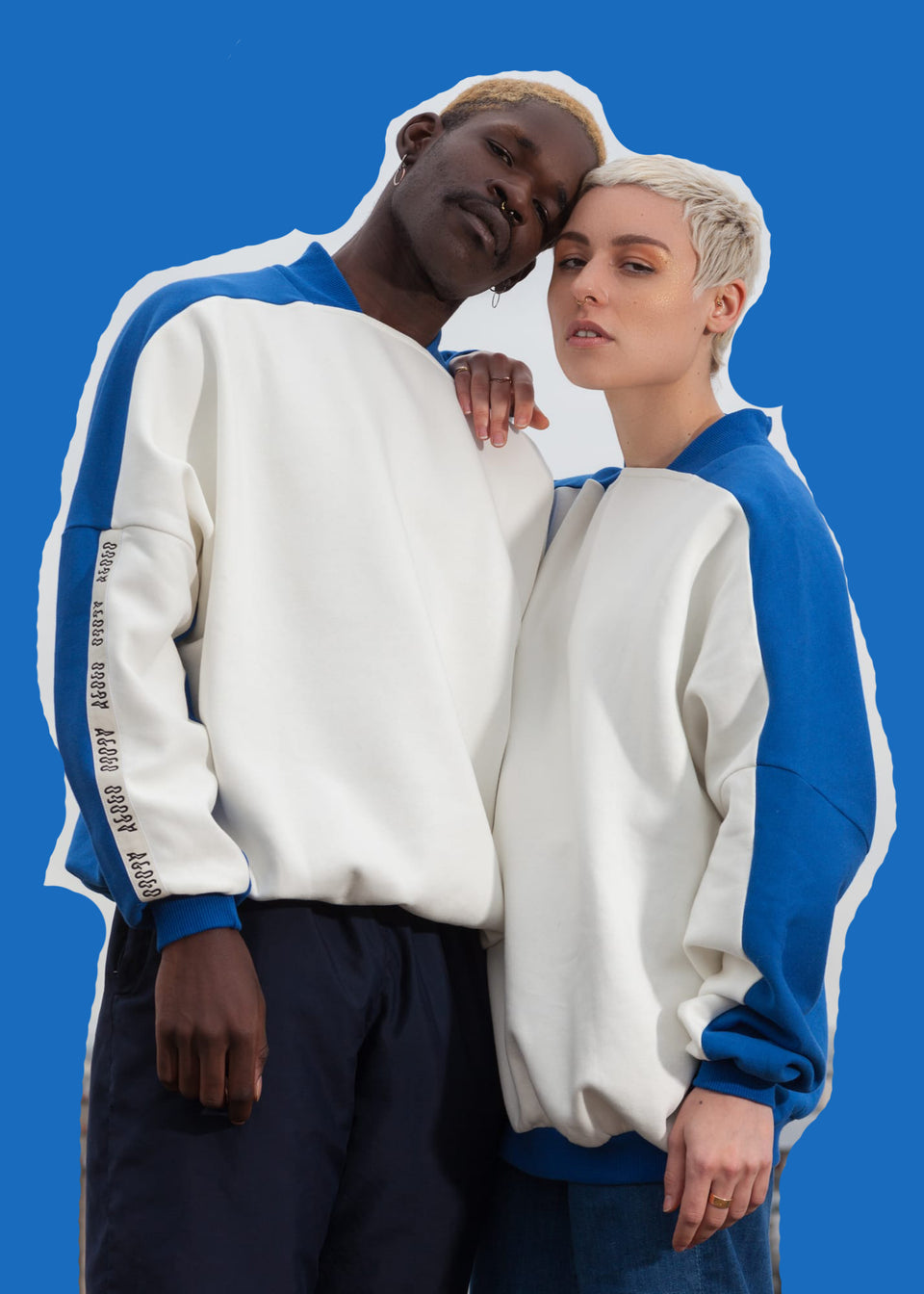 AGOGO • Sweat Bico Blu