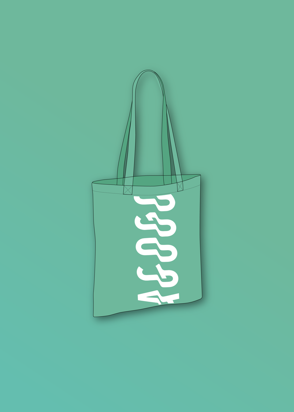 AGOGO • Tote Bag Mint