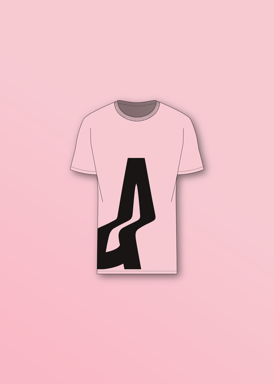 AGOGO • BASIC TEE Big A Rose