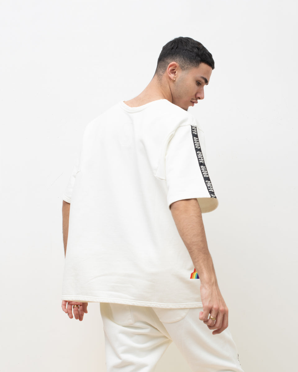 AGOGO • Sweat MAGIC TEE White