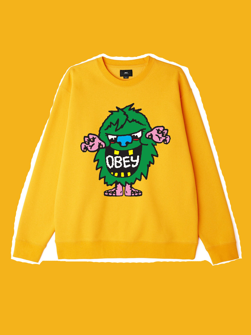 OBEY • Sweat Creech Jaune