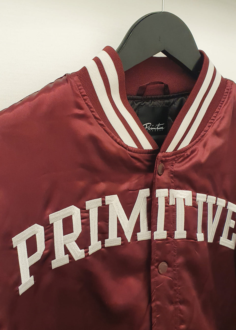 PRIMITIVE • Teddy satiné Bordeaux