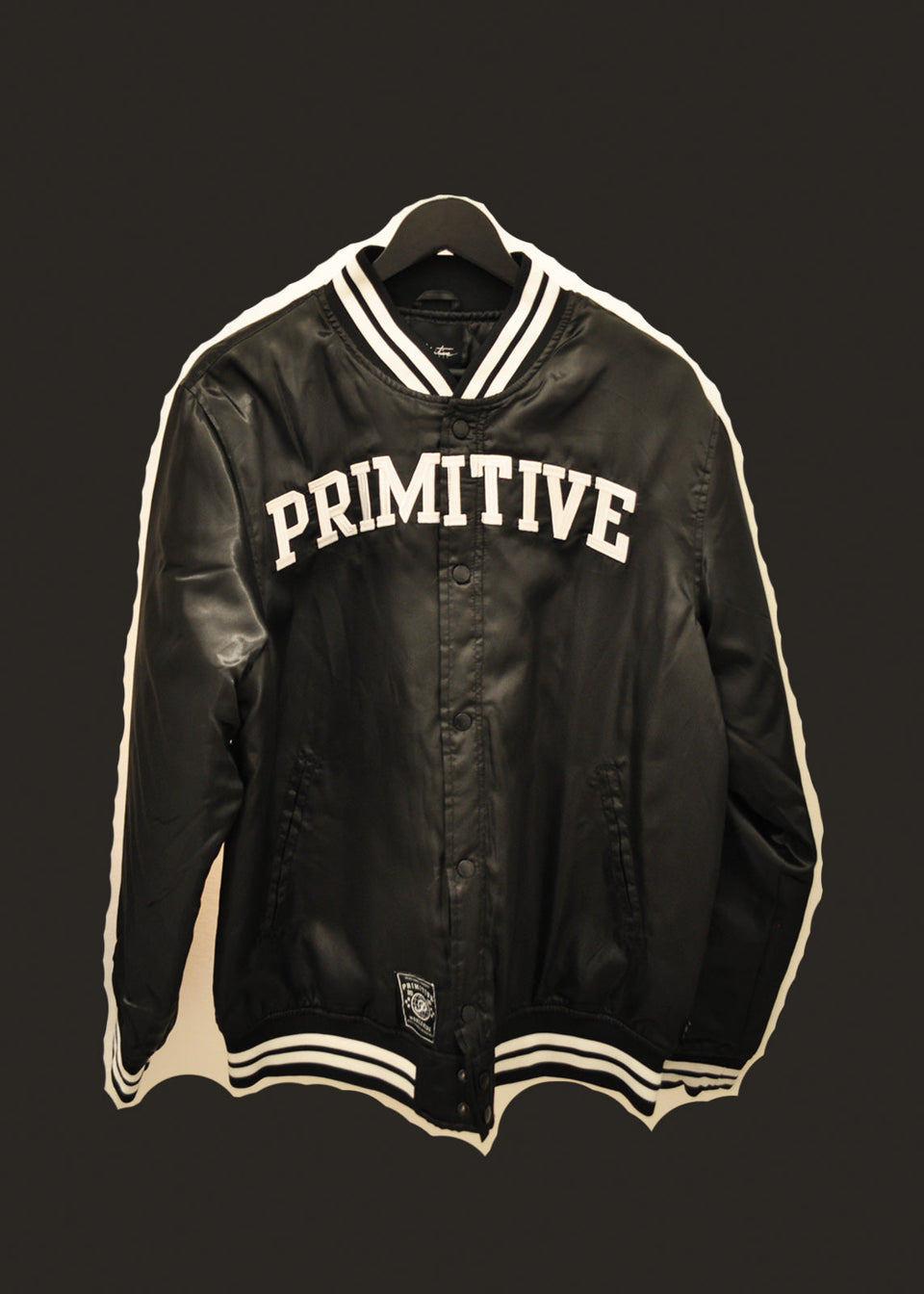 PRIMITIVE • Teddy satiné Noir