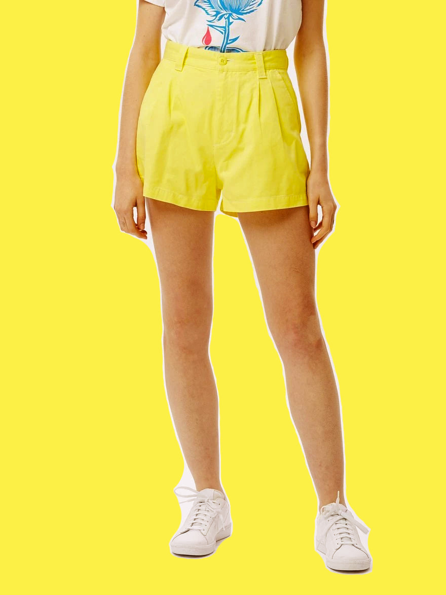 OBEY • Short Slacker Jaune
