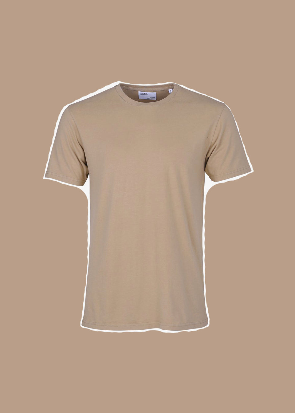 COLORFUL STANDARD • T-shirt Coton bio Camel