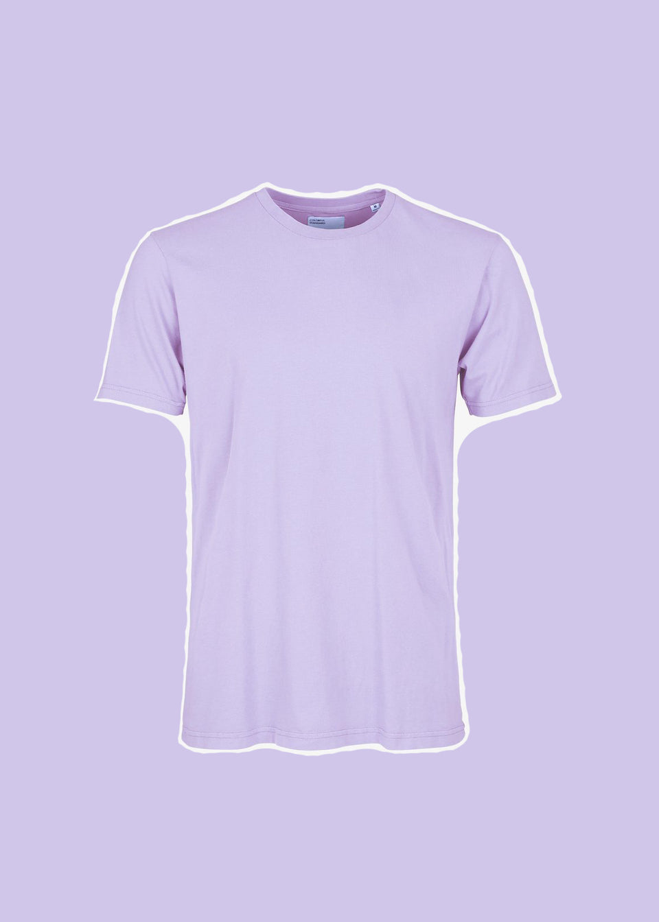 COLORFUL STANDARD • T-shirt Coton bio Lavande