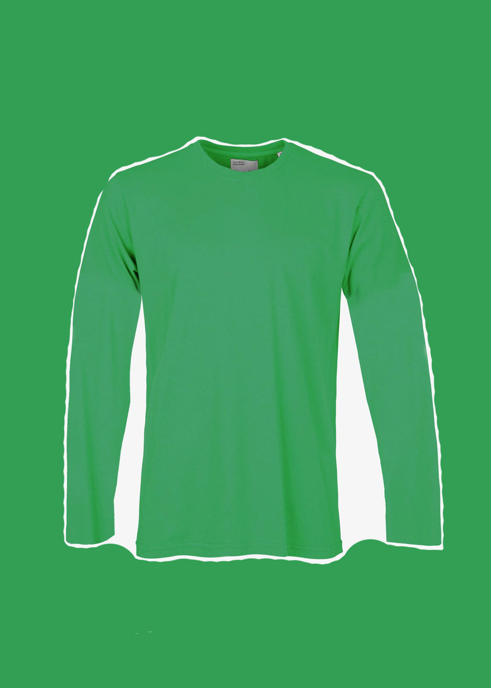 COLORFUL STANDARD • T-shirt Manches longues Coton bio Vert Kelly