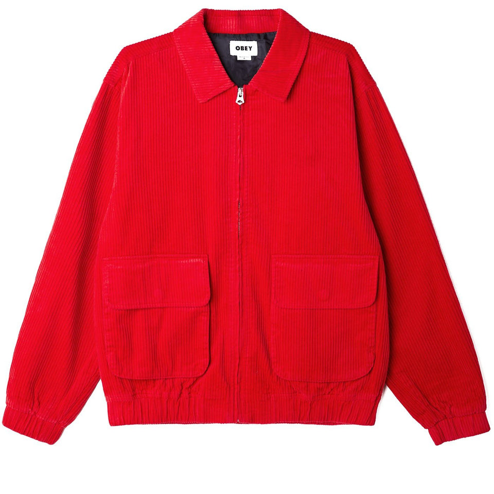 OBEY • Veste Captain Rouge