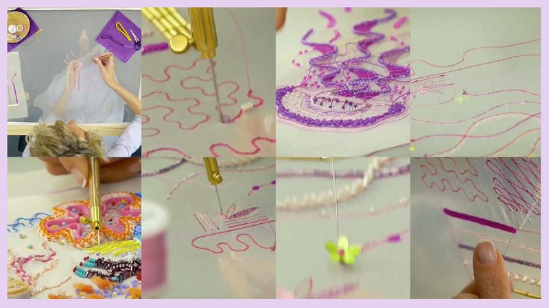 Couture Beading & Embellishment Online Course Part 1